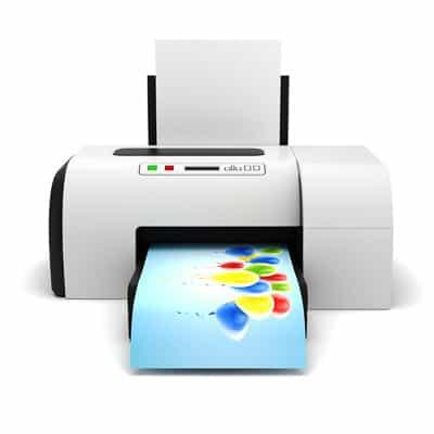Ob Arbeitsplatzdrucker oder Produktionssystem: Beim Digitaldruck werden elektronische Daten vom Rechner direkt an das Drucksystem gesendet. (Foto: © DigitalGenetics / Fotolia.com)