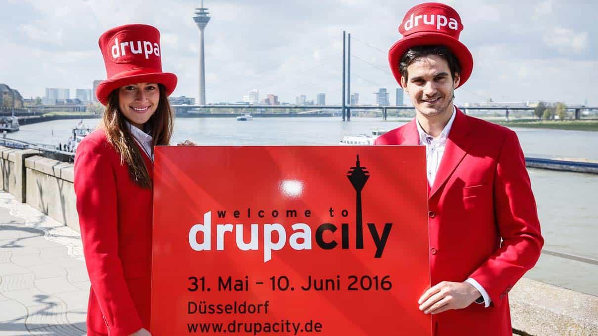 Elf Tage lang ist Düsseldorf wieder Schauplatz der weltgrößten Messe für Print und Crossmedia Solutions. (Foto: © Messe Düsseldorf / ctillmann)