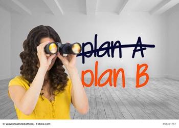 Den Markt und seine Akteure permanent zu beobachten und die richtigen Schlüsse zu ziehen, ist eine Grundvoraussetzung für den Geschäftserfolg. Ein Plan B kann dabei hilfreich sein. (Foto: © WavebreakMediaMicro / Fotolia.com)