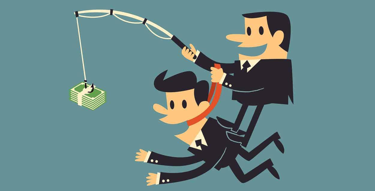 Geld ist ein eher kurzfristiger Motivator. (Illustration: © Monkik / Shutterstock.com)