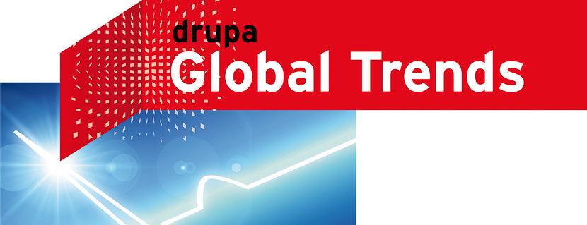 Logo des Drupa Global Trends Reports