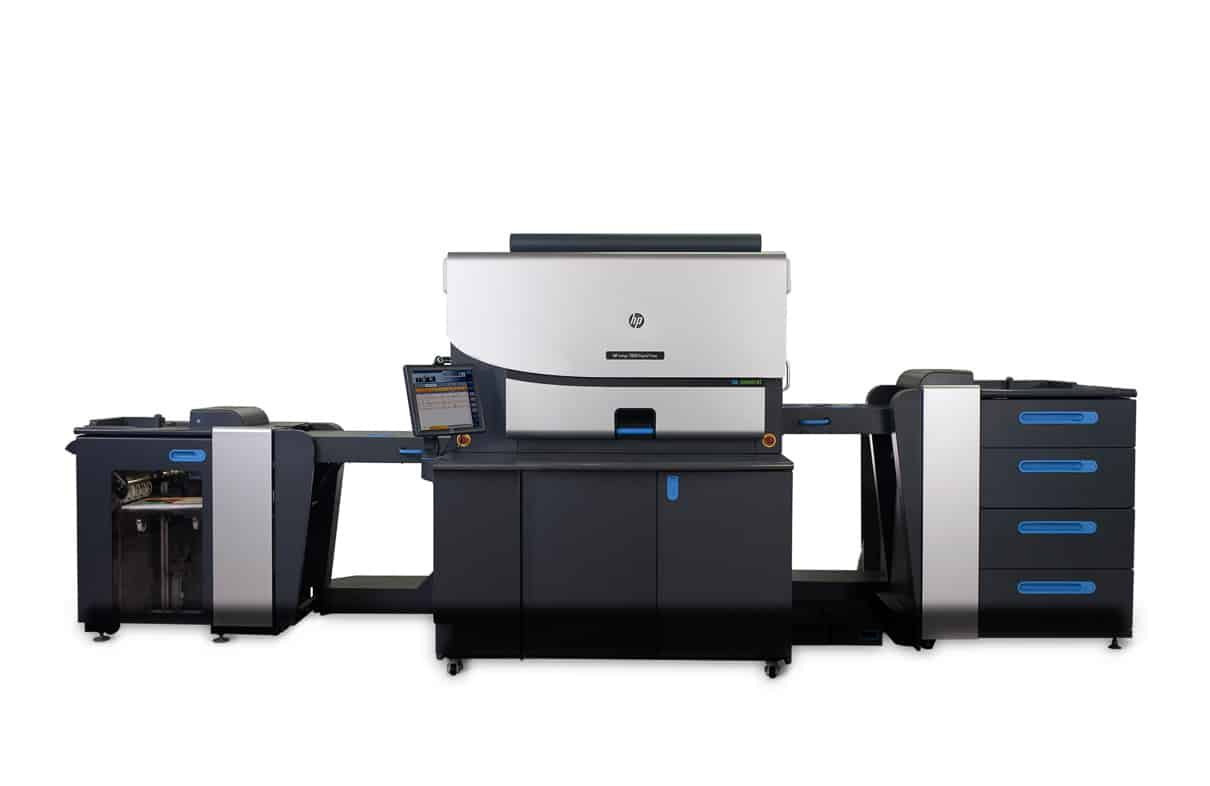 Indigo-Vollfarbdrucker – hier ein Einzelblattsystem der 7000er-Serie – sind perfekt für den variablen Illustrationsdruck. (© HP Deutschland)