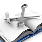Bedienungsanleitung mit Werkzeug