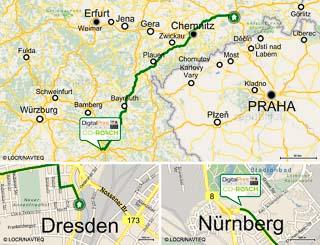 Mit dieser MULTImap als Bestandteil eines Mailings hat die Digital Print Group ihre Kunden zur CO-REACH nach Nürnberg eingeladen. (© Digital Print Group)