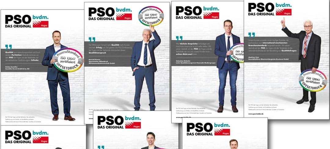 Geoindividualisierung: Je nach Region des Abonnenten wurde eines von sieben Anzeigenmotiven für die PSO-Kampagne des BDVM und der Fogra eingesetzt. (Bild: © Deutscher Drucker)
